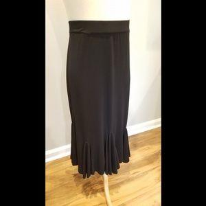 Black stretch skirt size Large